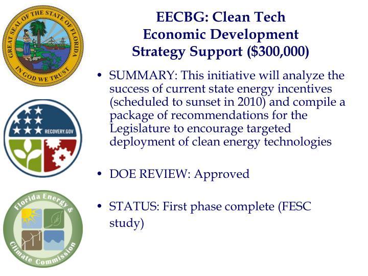 EECBG: Clean Tech