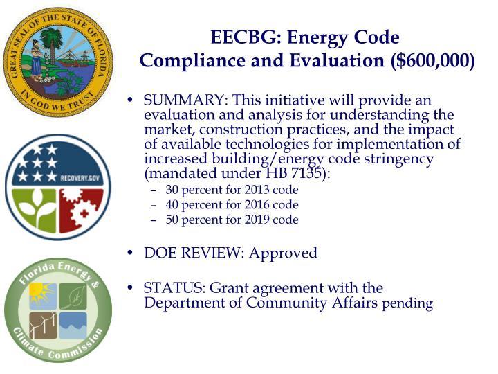 EECBG: Energy Code