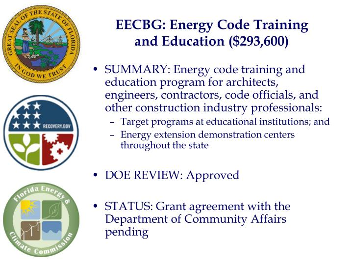 EECBG: Energy Code Training