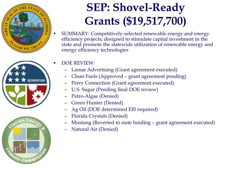 SEP: Shovel-Ready