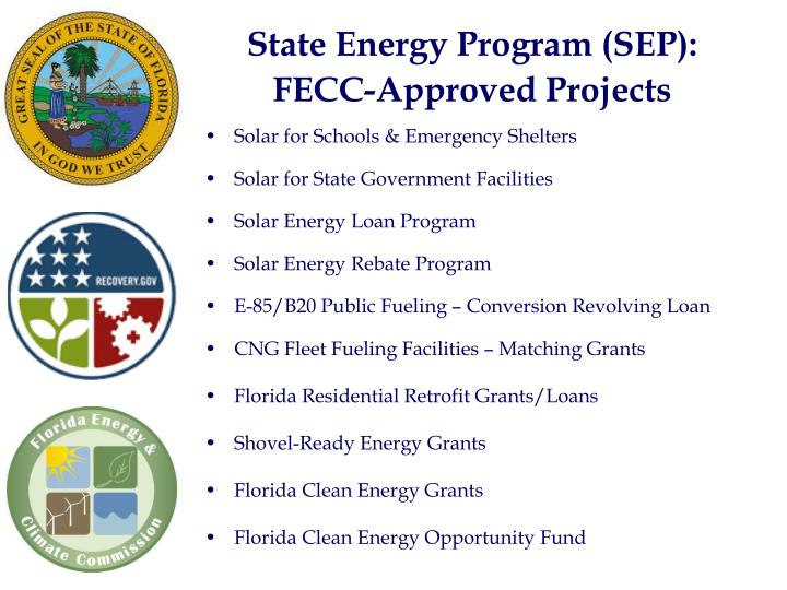 State Energy Program (SEP):