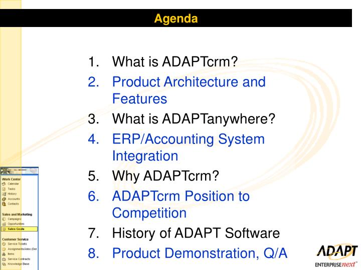 What is ADAPTcrm?