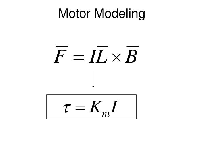 Motor Modeling