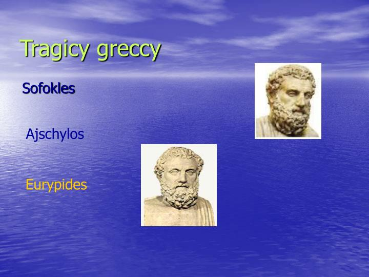 Tragicy greccy
