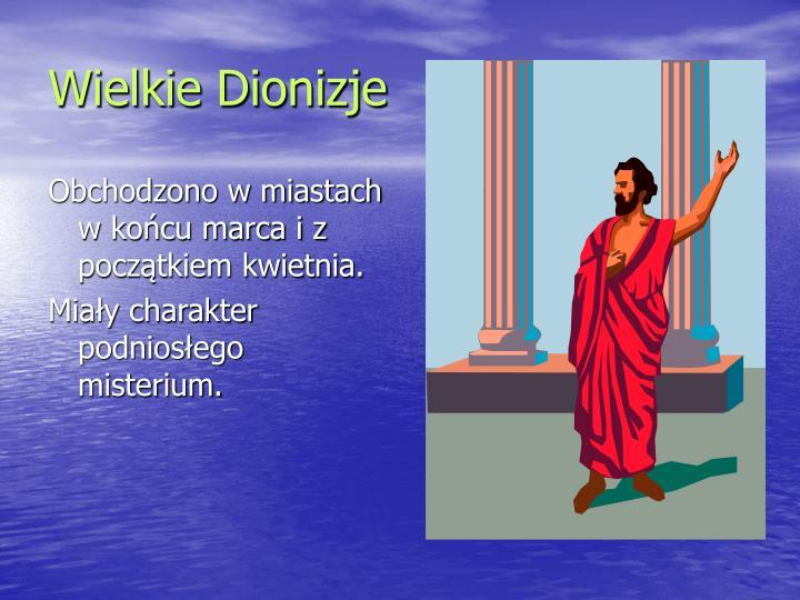 Wielkie Dionizje