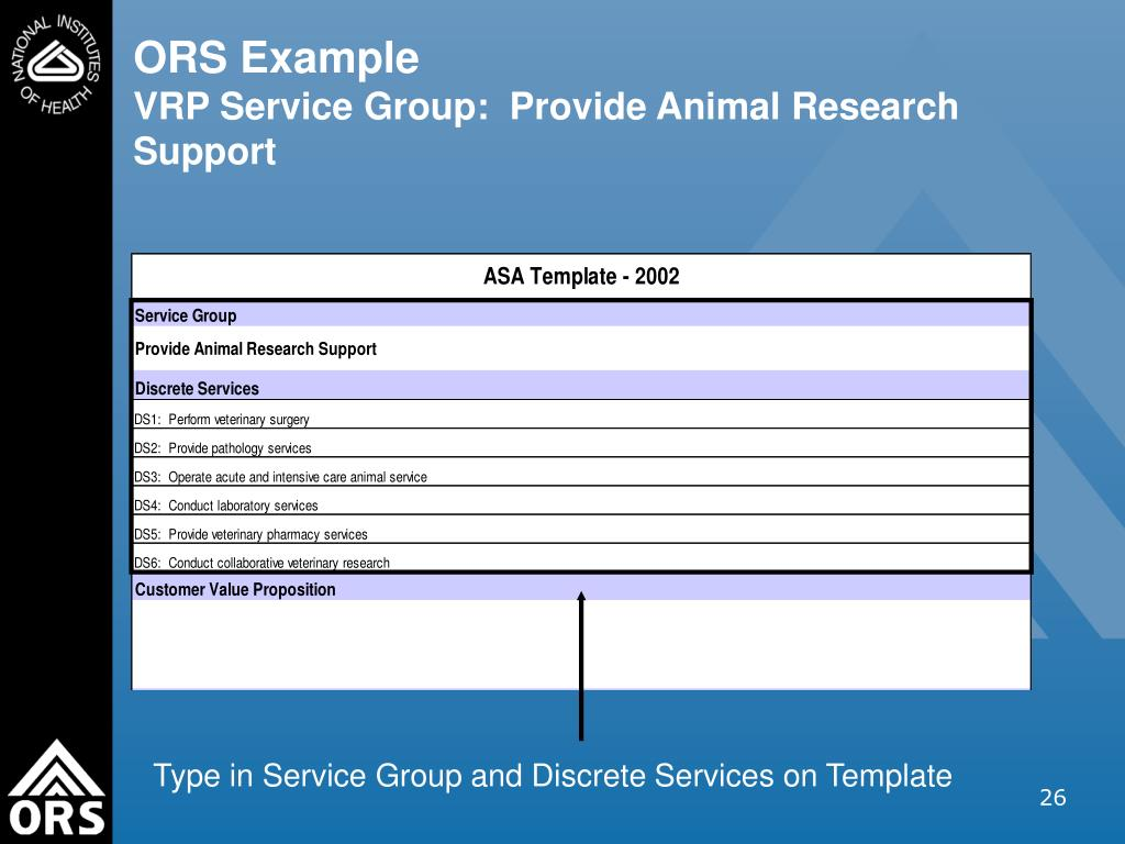 ORS Example