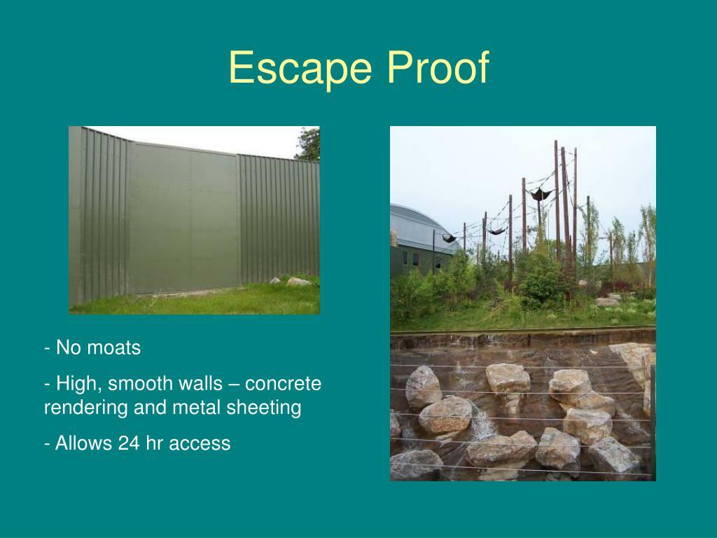 Escape Proof