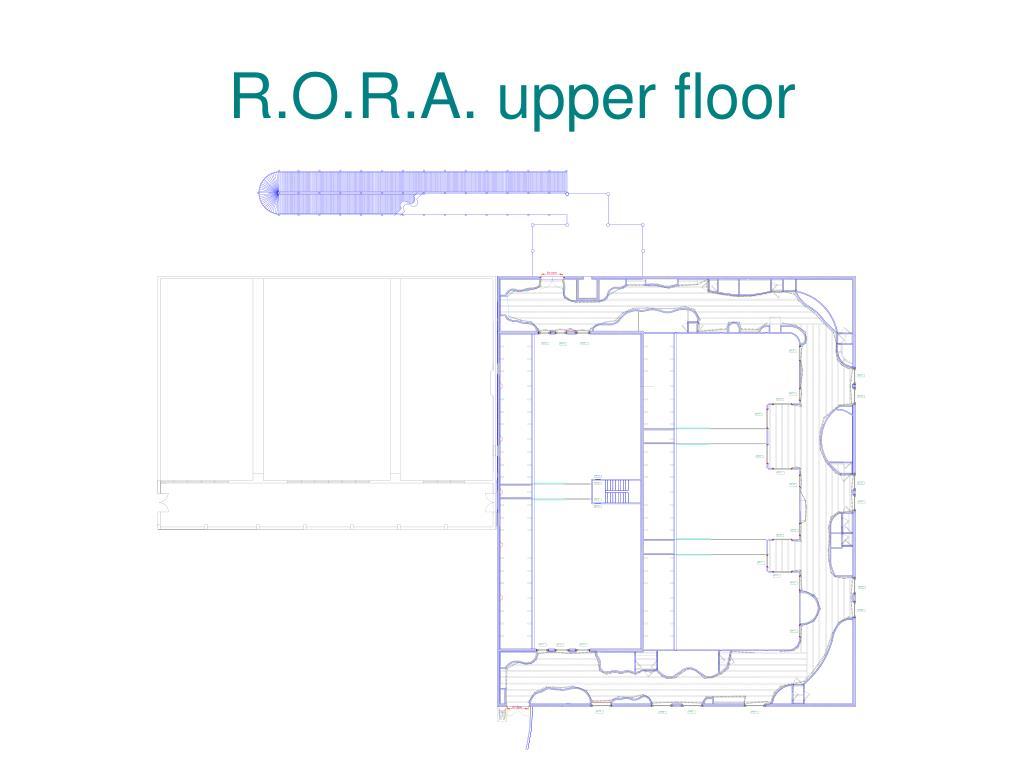 R.O.R.A. upper floor