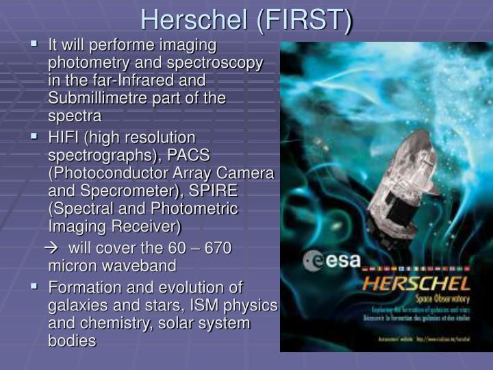 Herschel (FIRST)