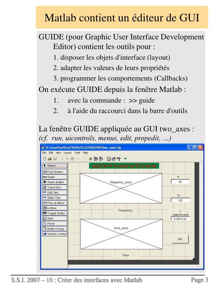 Ppt cr er des interfaces avec matlab powerpoint - Ouvrir un powerpoint avec open office ...