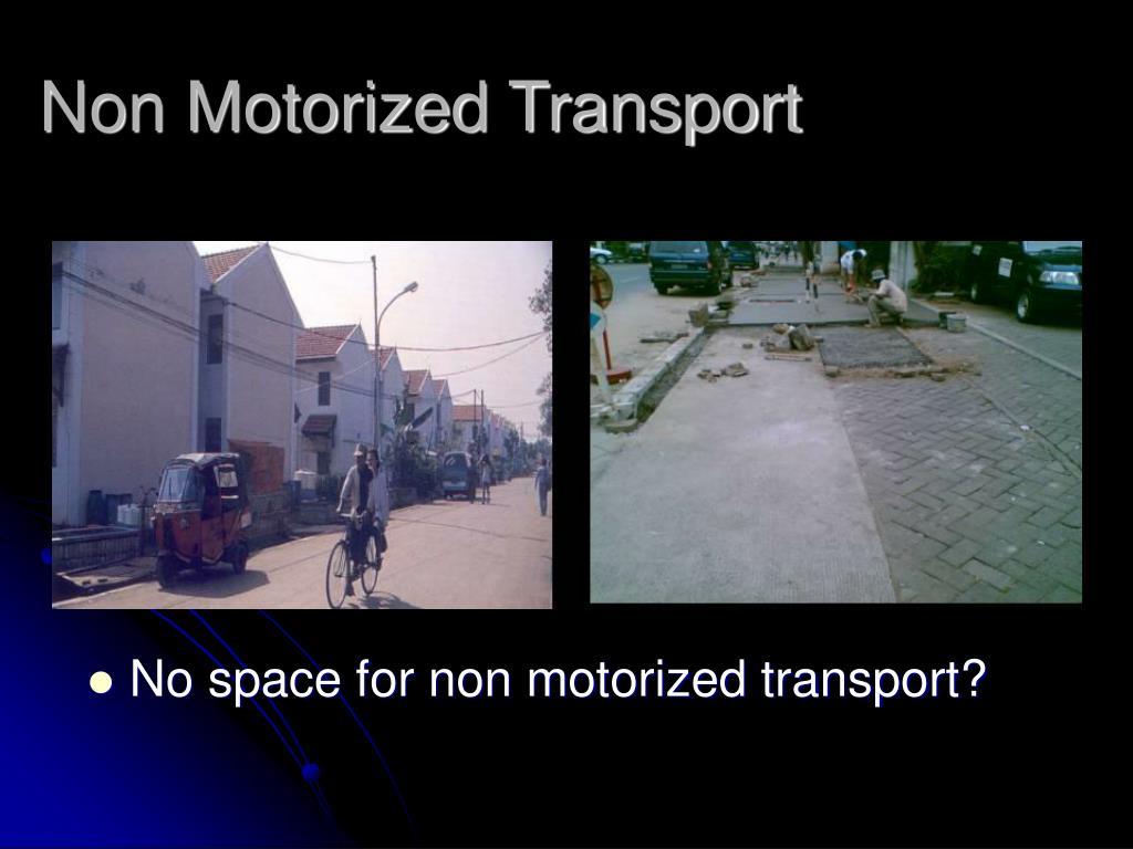 Non Motorized Transport