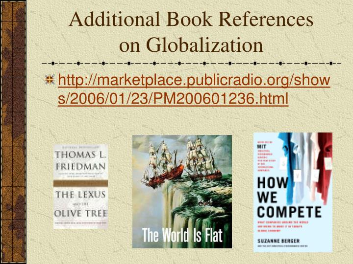 Additional Book References