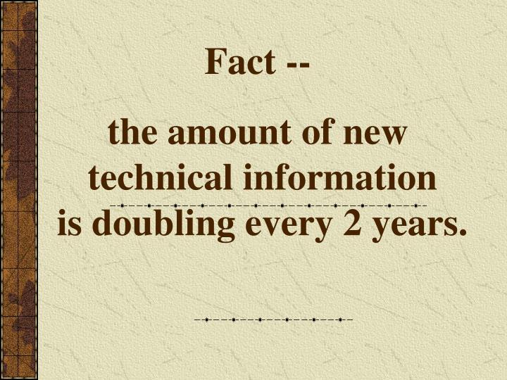 Fact --