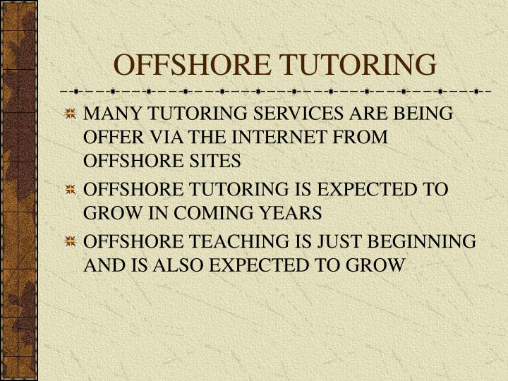 OFFSHORE TUTORING