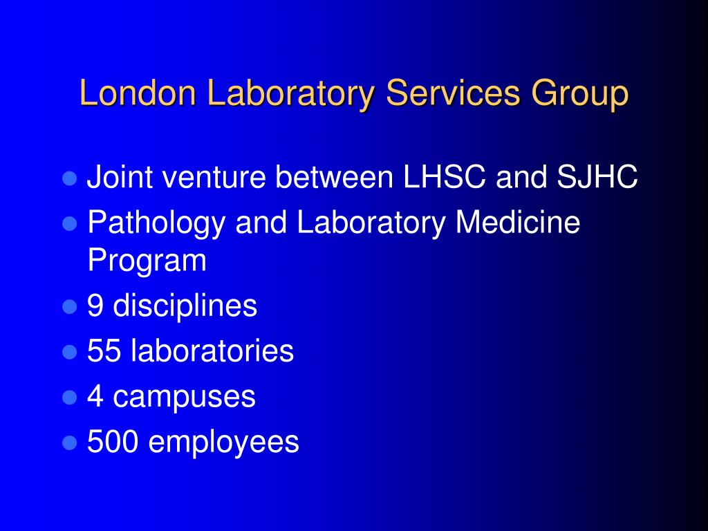 London Laboratory Services Group