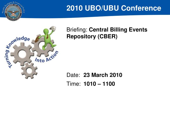 Briefing central billing events repository cber