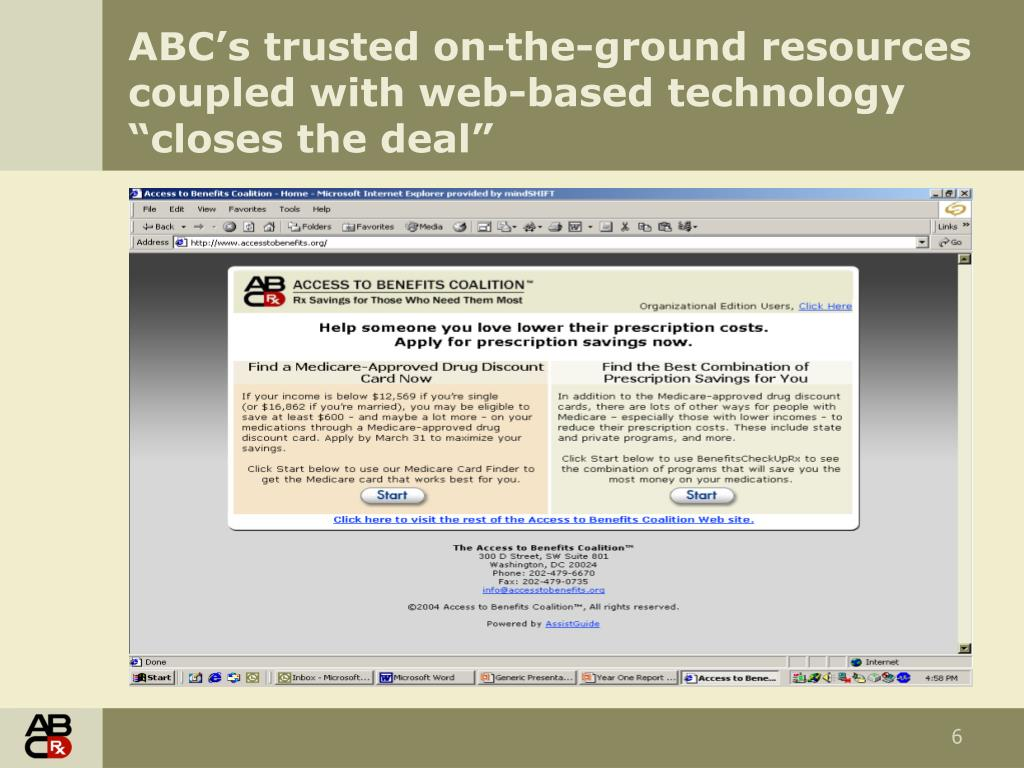 "ABC's trusted on-the-ground resources coupled with web-based technology ""closes the deal"""