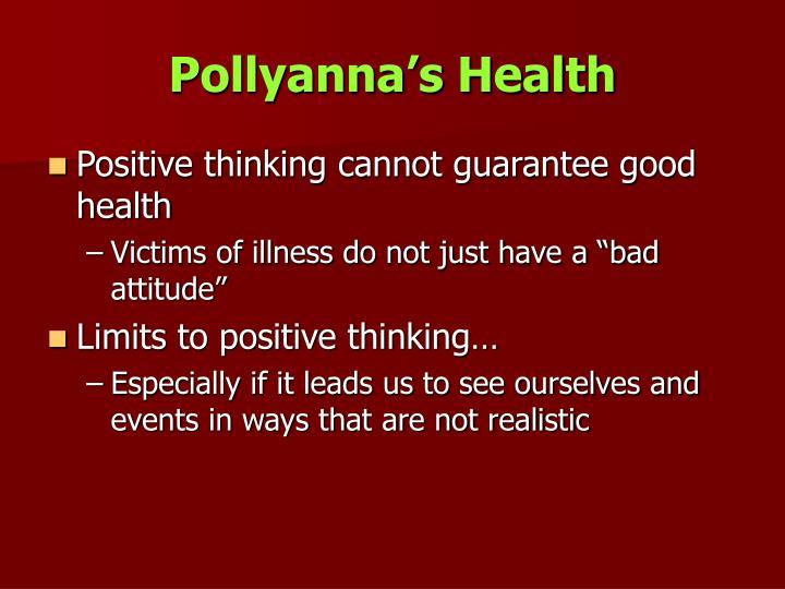 Pollyanna's Health