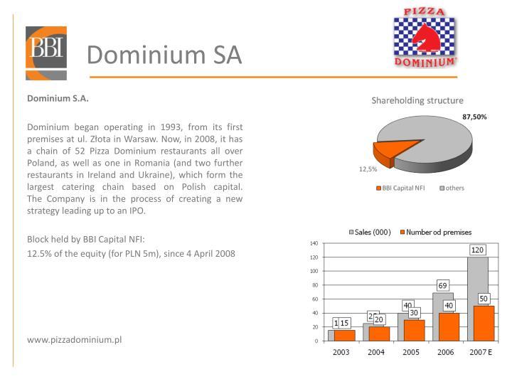 Dominium SA