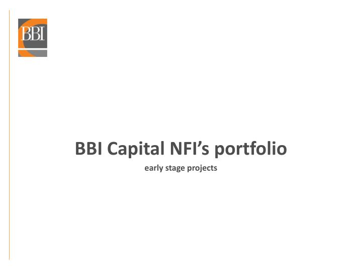 BBI Capital
