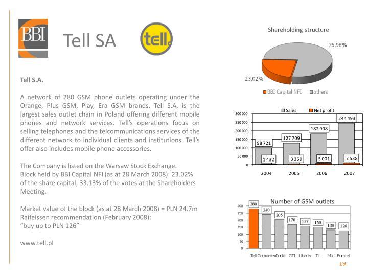 Tell SA