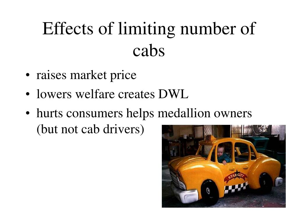 Effects of limiting number of cabs