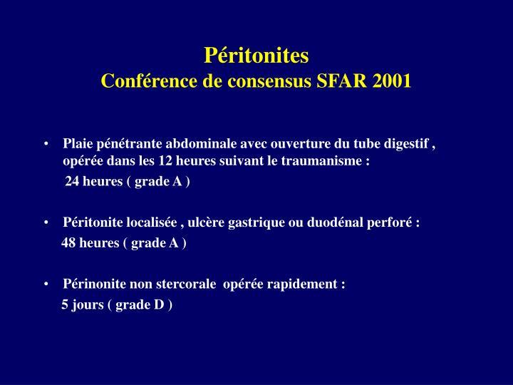 Péritonites