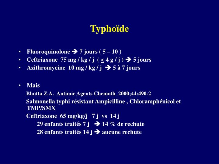 Typhoïde
