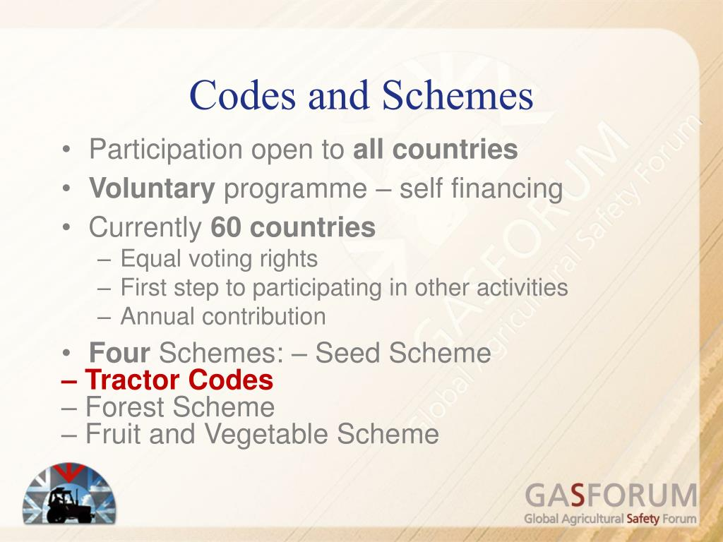 Codes and Schemes
