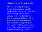 baden powell continues26