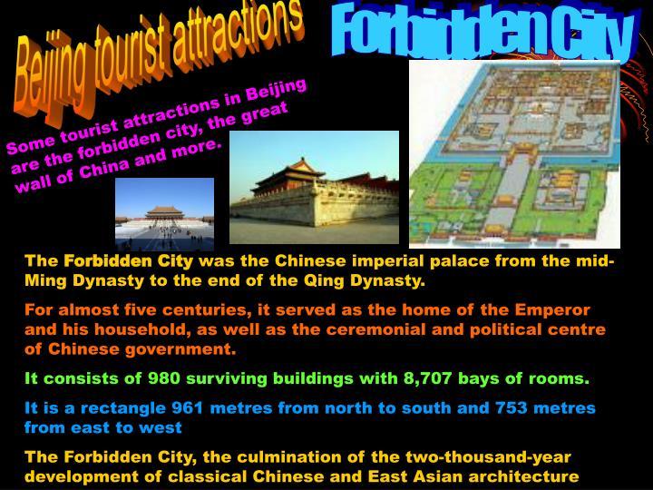 Beijing tourist attractions