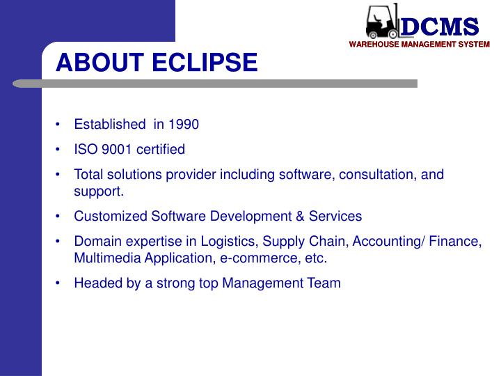 ABOUT ECLIPSE