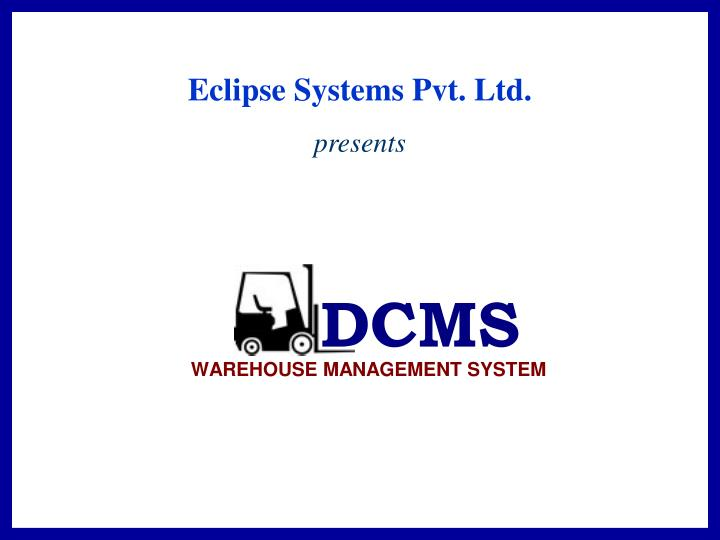 Eclipse Systems Pvt. Ltd.
