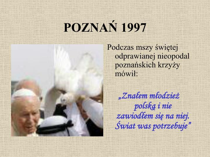 POZNAŃ 1997