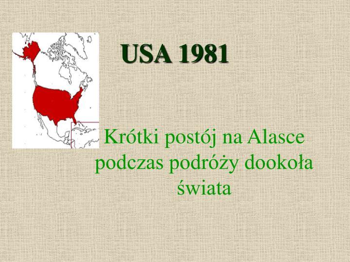 USA 1981