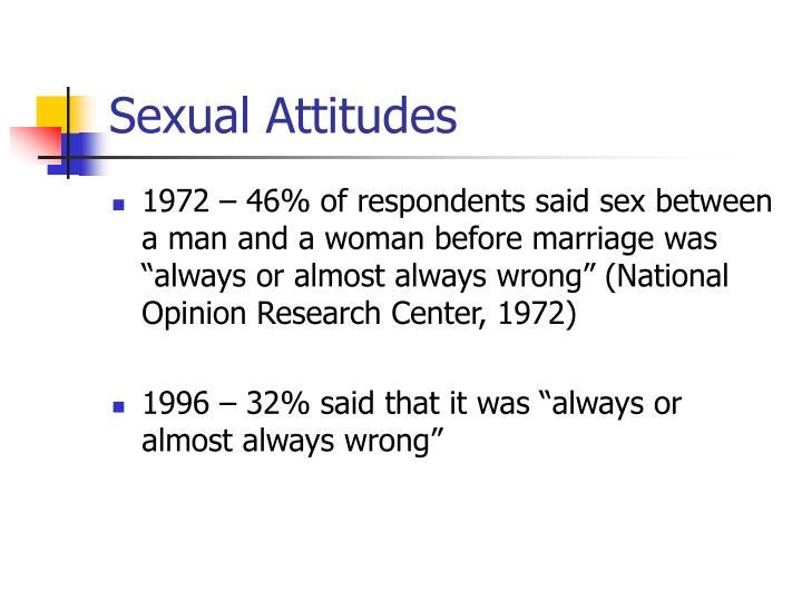 Sexual Attitudes