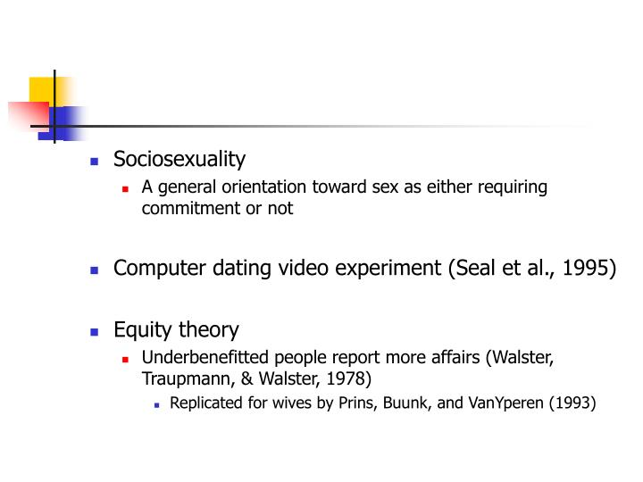 Sociosexuality