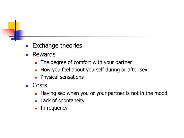 Exchange theories