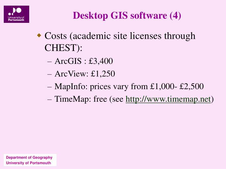 Desktop GIS software (4)