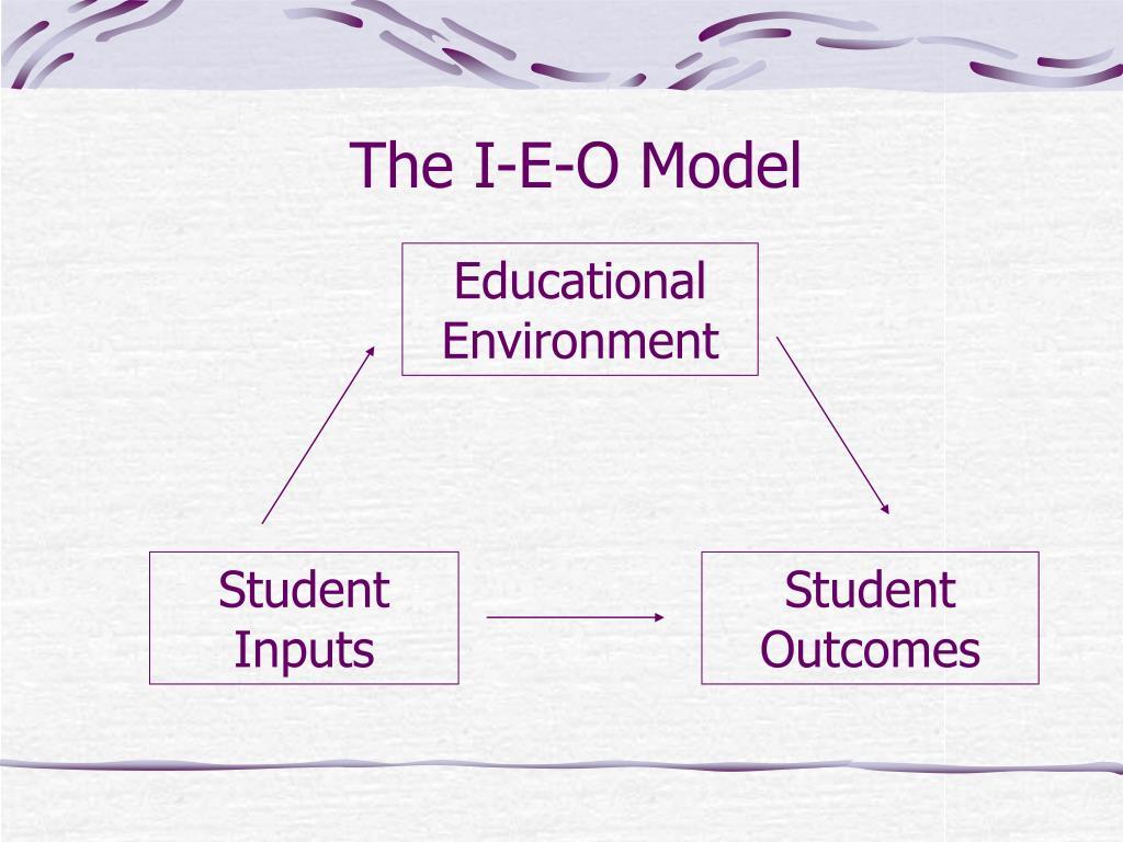 The I-E-O Model