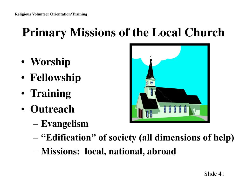 Primary Missions of the Local Church