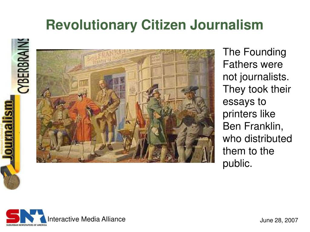 Revolutionary Citizen Journalism