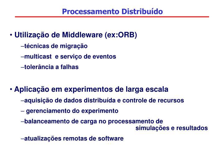 Processamento Distribuído