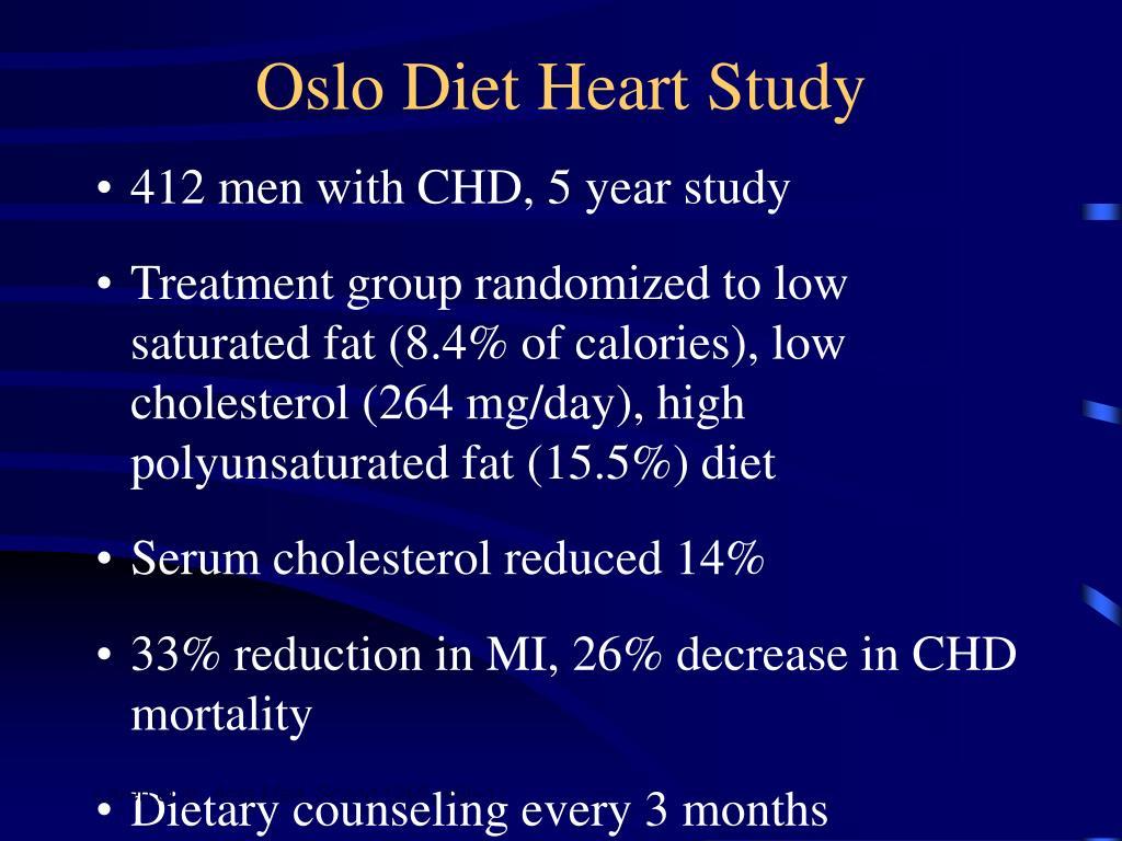 Oslo Diet Heart Study