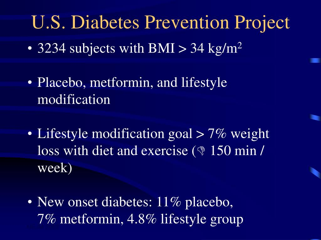 U.S. Diabetes Prevention Project