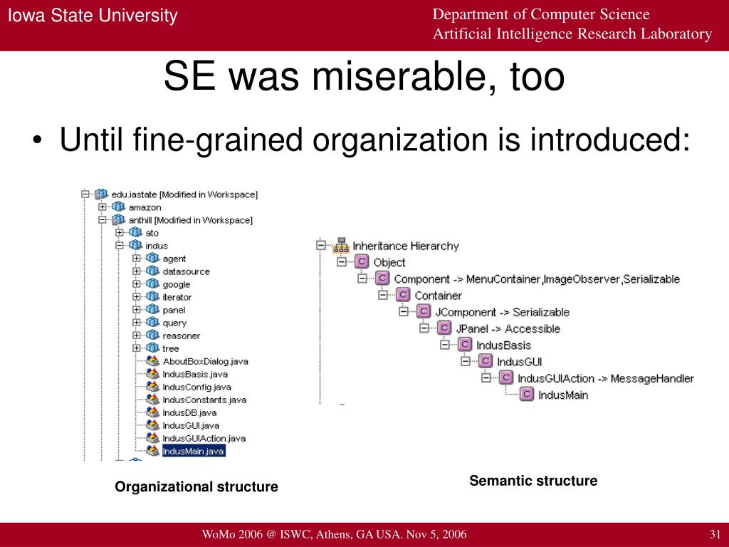 SE was miserable, too