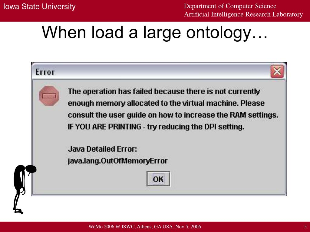 When load a large ontology…