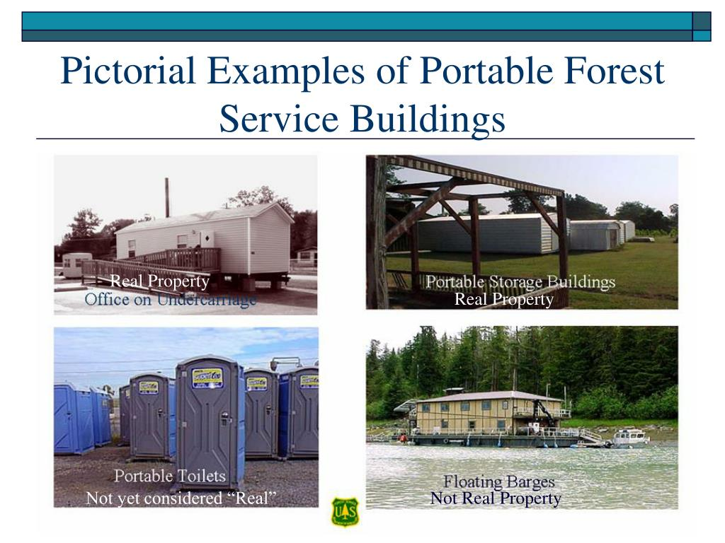 Pictorial Examples of Portable Forest Service Buildings