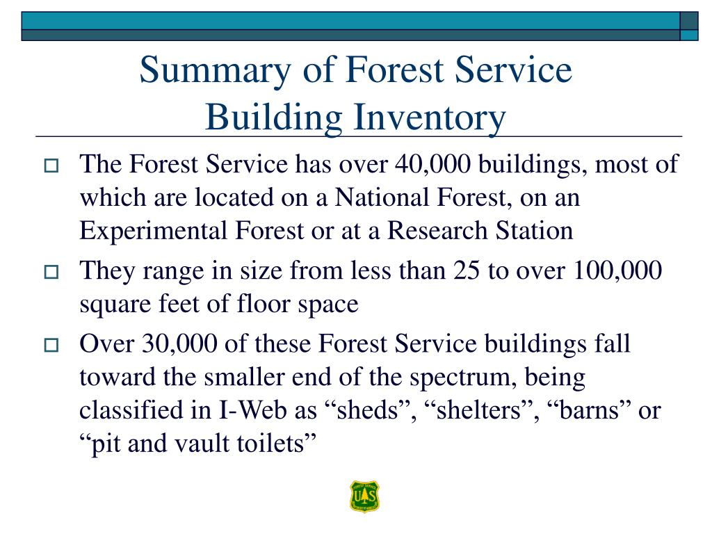 Summary of Forest Service
