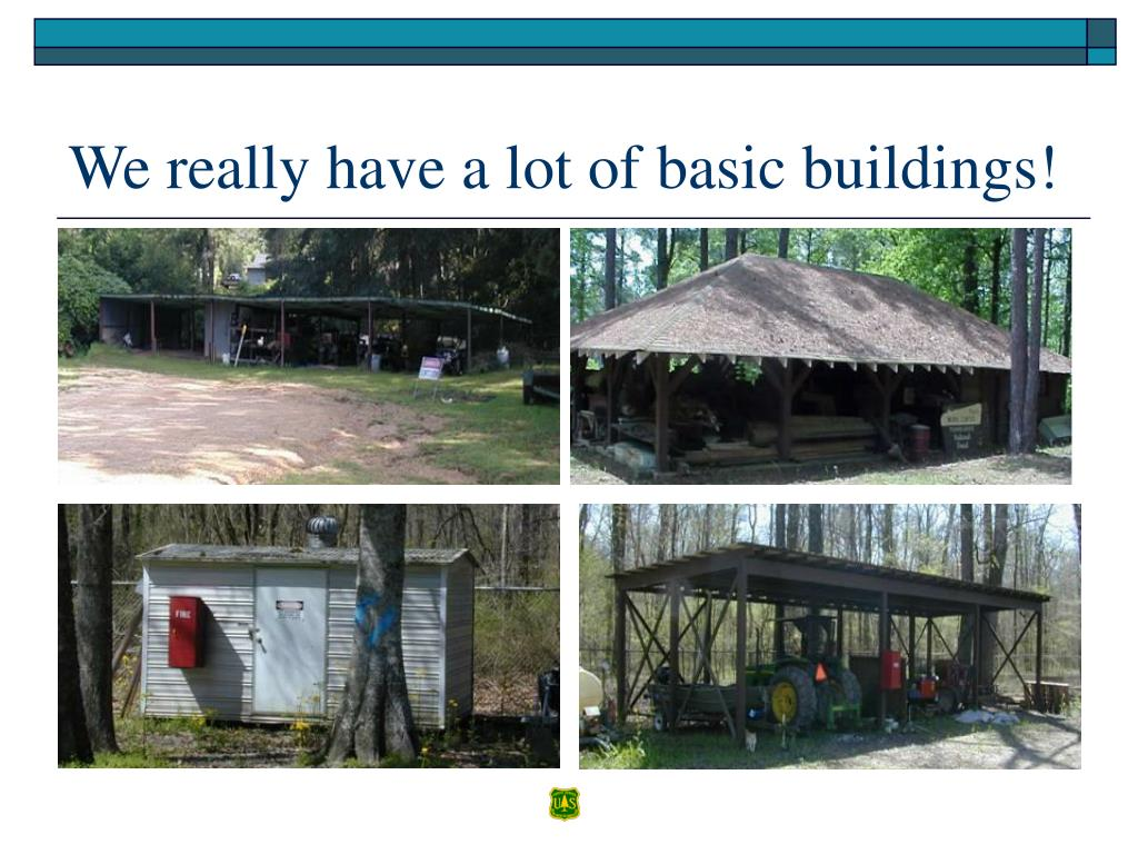 We really have a lot of basic buildings!